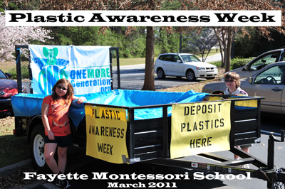 "OMG Founders Launch ""Plastic Awareness Week"" in School"