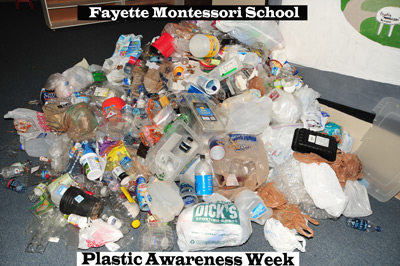 Day 4 of our Plastic Awareness Week