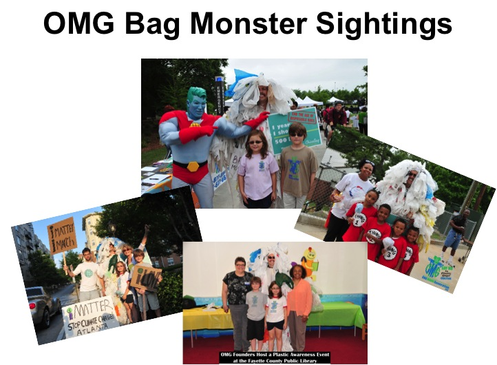 OMG Bag Monster Sightings