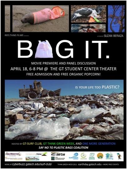 """Bag-It"" Movie Premiere at GA Tech Institute"