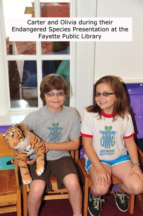 OMG Hosts Fayette Public Library After School Program