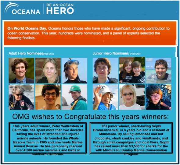 "Oceana ""Ocean Hero"" Awards"