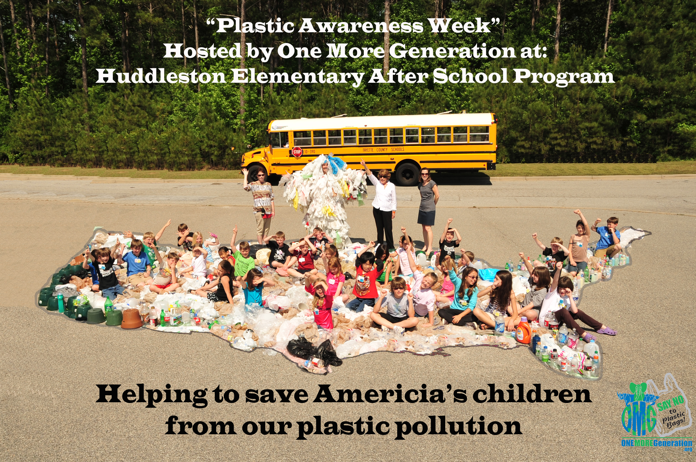Huddleston Elementary 'After School Program' Talks Trash