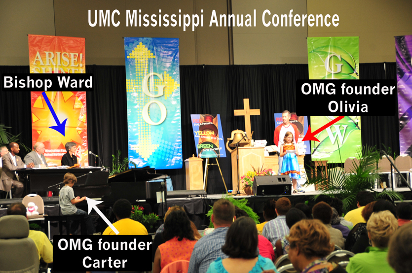OMG Founders Speak at the 2011 UMC Mississippi Annual Conference
