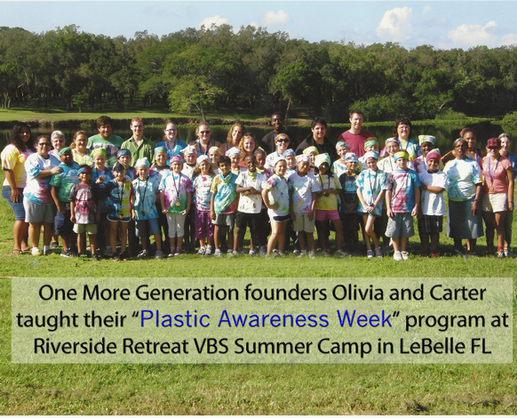 Plastic Awareness Week Program at Riverside Retreat