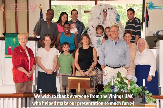 OMG Founders Present their Environmental Program to the Vinings UMC