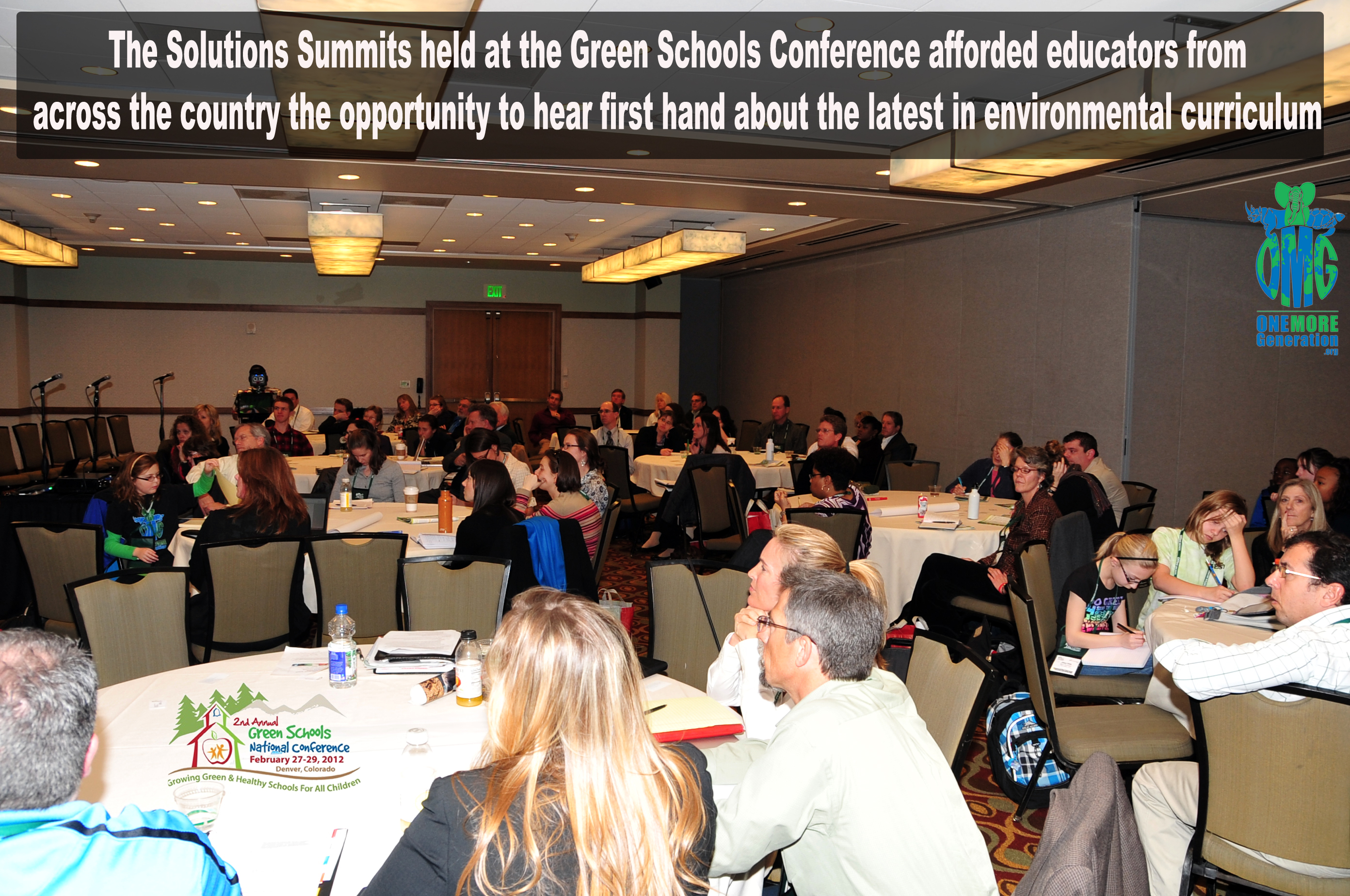 In addition to traditional breakout session programming, the Green Schools  National Conference ...