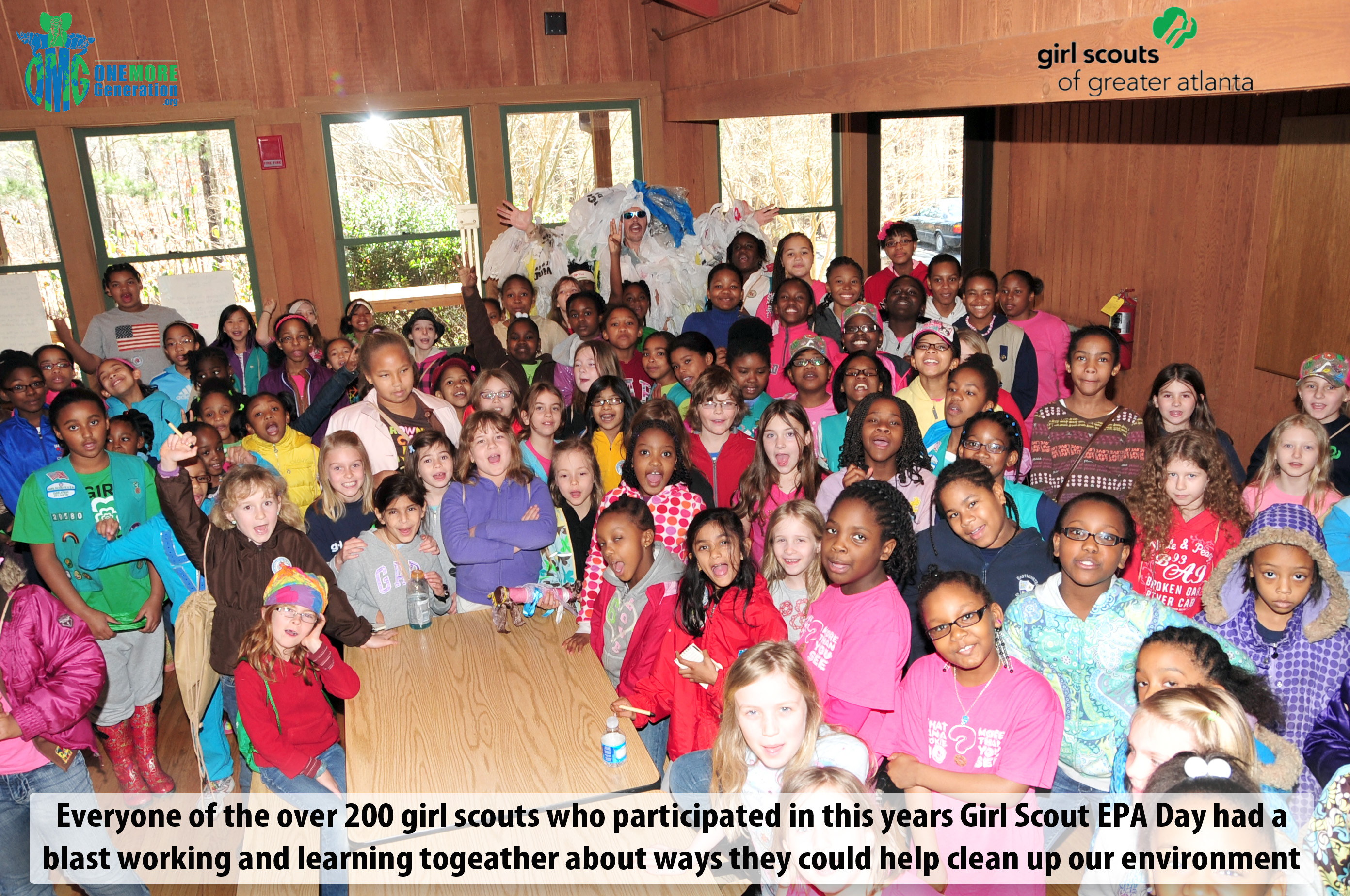 OMG Joins Girl Scouts of Greater Atlanta for their EPA Event