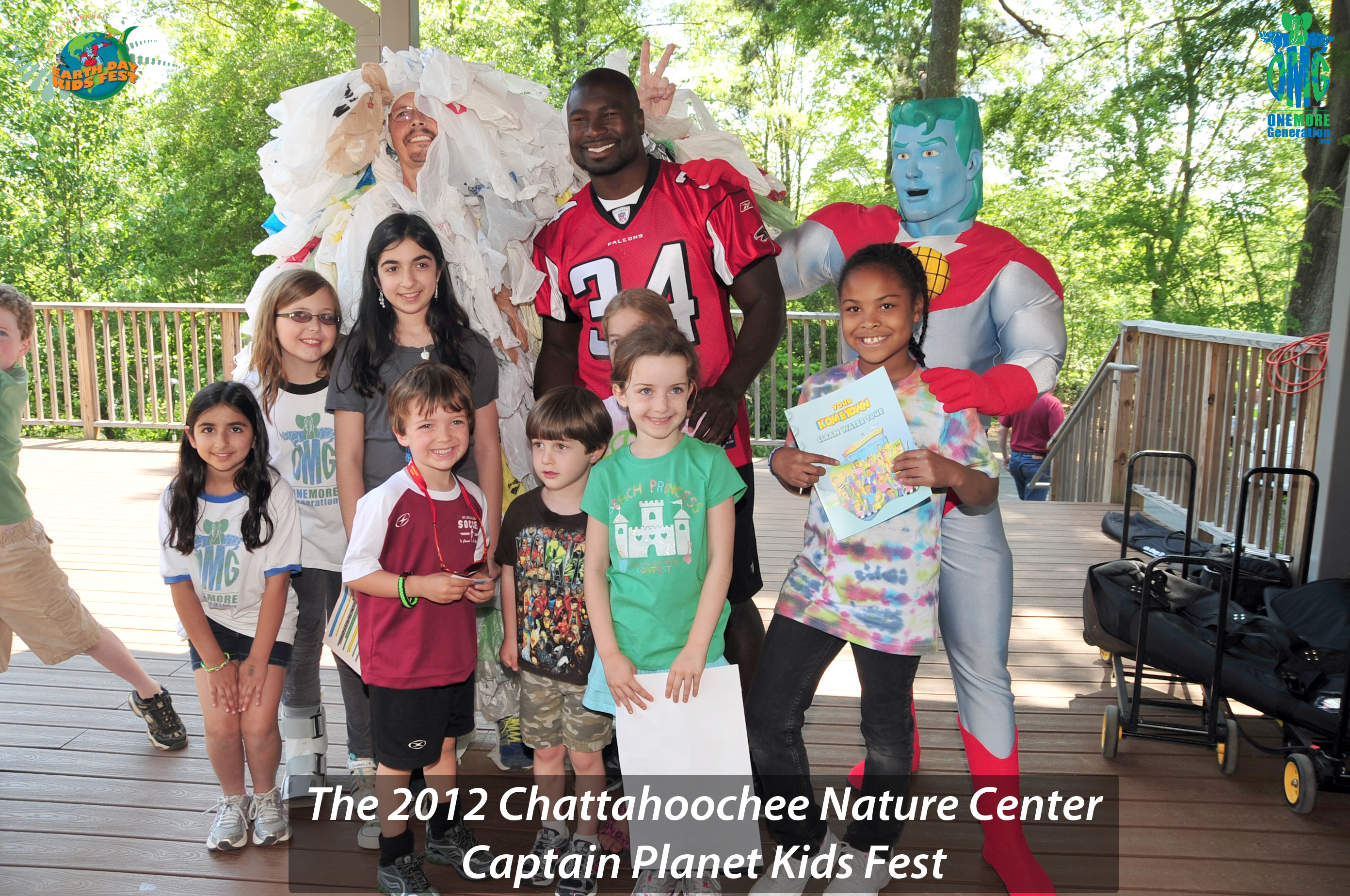 Chattahoochee Nature Center 10th Annual Captain Planet Earth Day Kids Fest