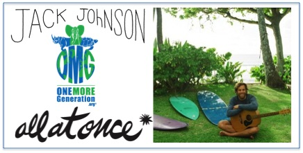 Jack Johnson Helps OMG Raise Awareness About Plastic Pollution