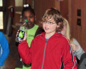 Carter Teaches Plastic and Recycling Awareness