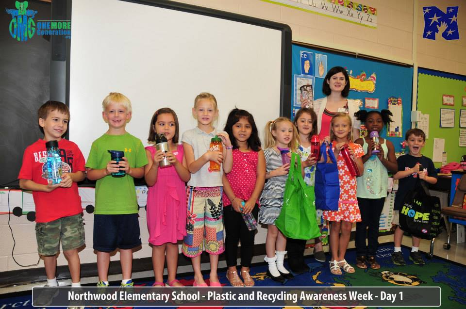 Northwood Elementary Hosts OMG Plastic & Recycling Awareness Week