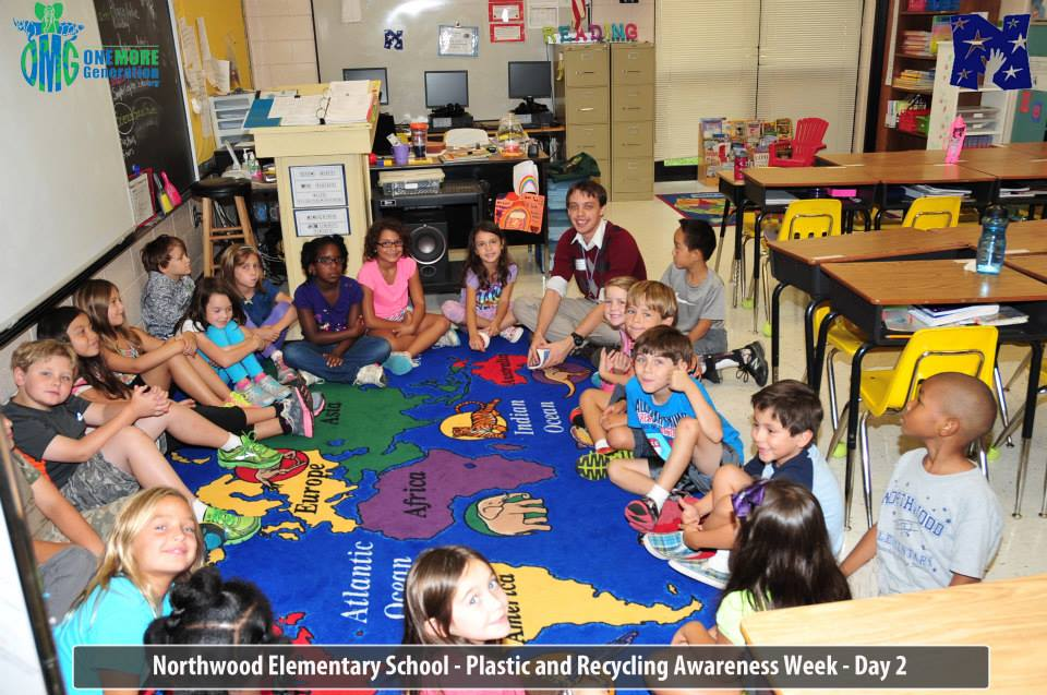 Northwood Elementary Hosts OMG Plastic & Recycling Awareness   One