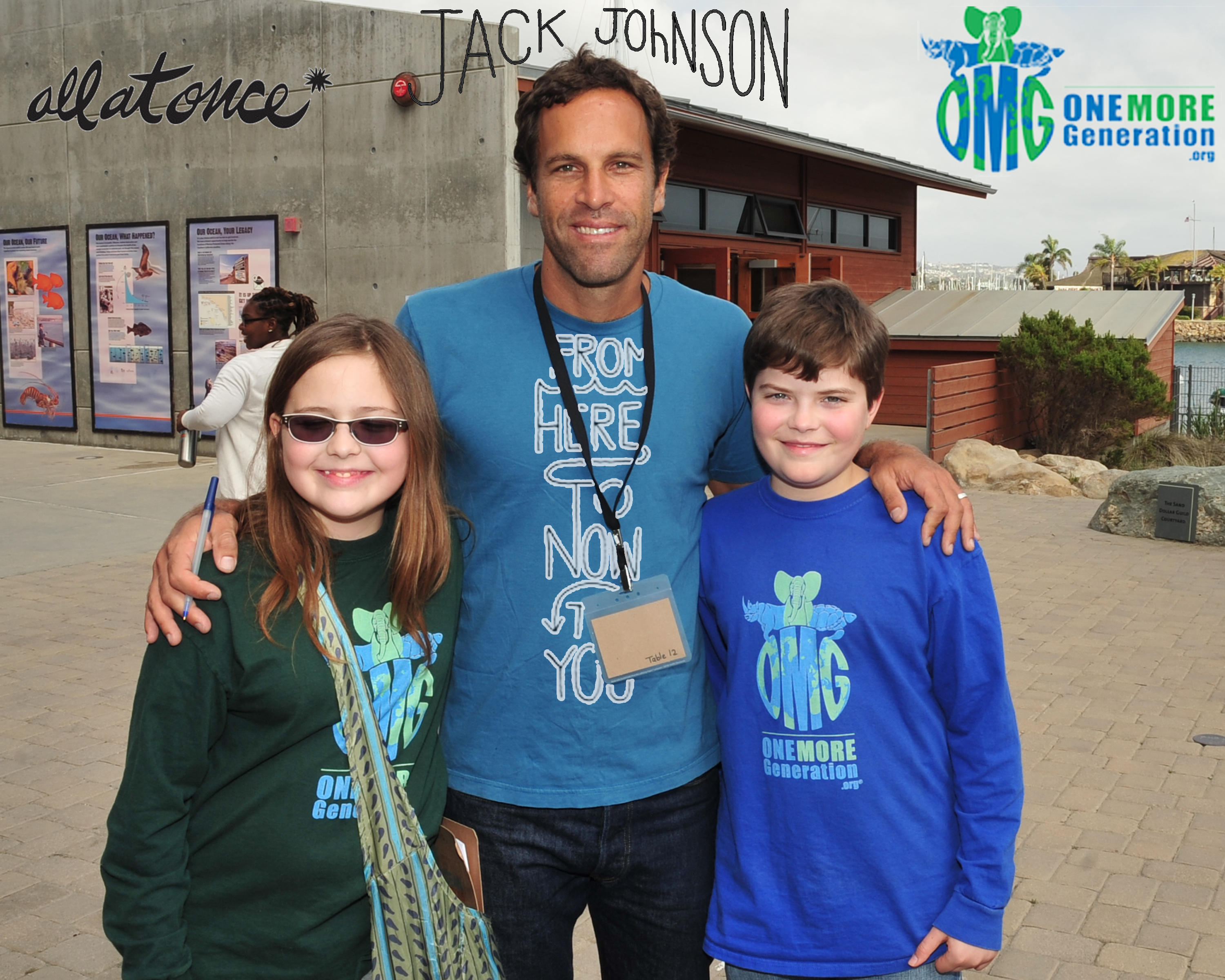 Jack Johnson is teaming up with OMG to protect our oceans