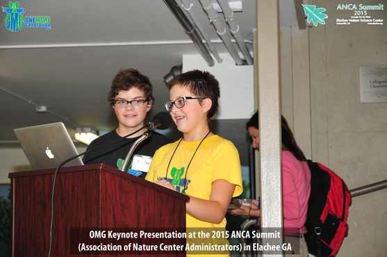 OMG Delivers Keynote Speech at 26th Annual ANCA (Association of Nature Center Administrators) Summit