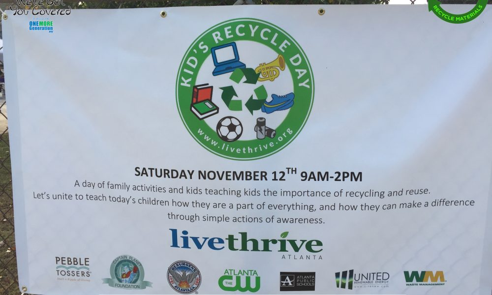 Kids Recycle Day at CHaRM