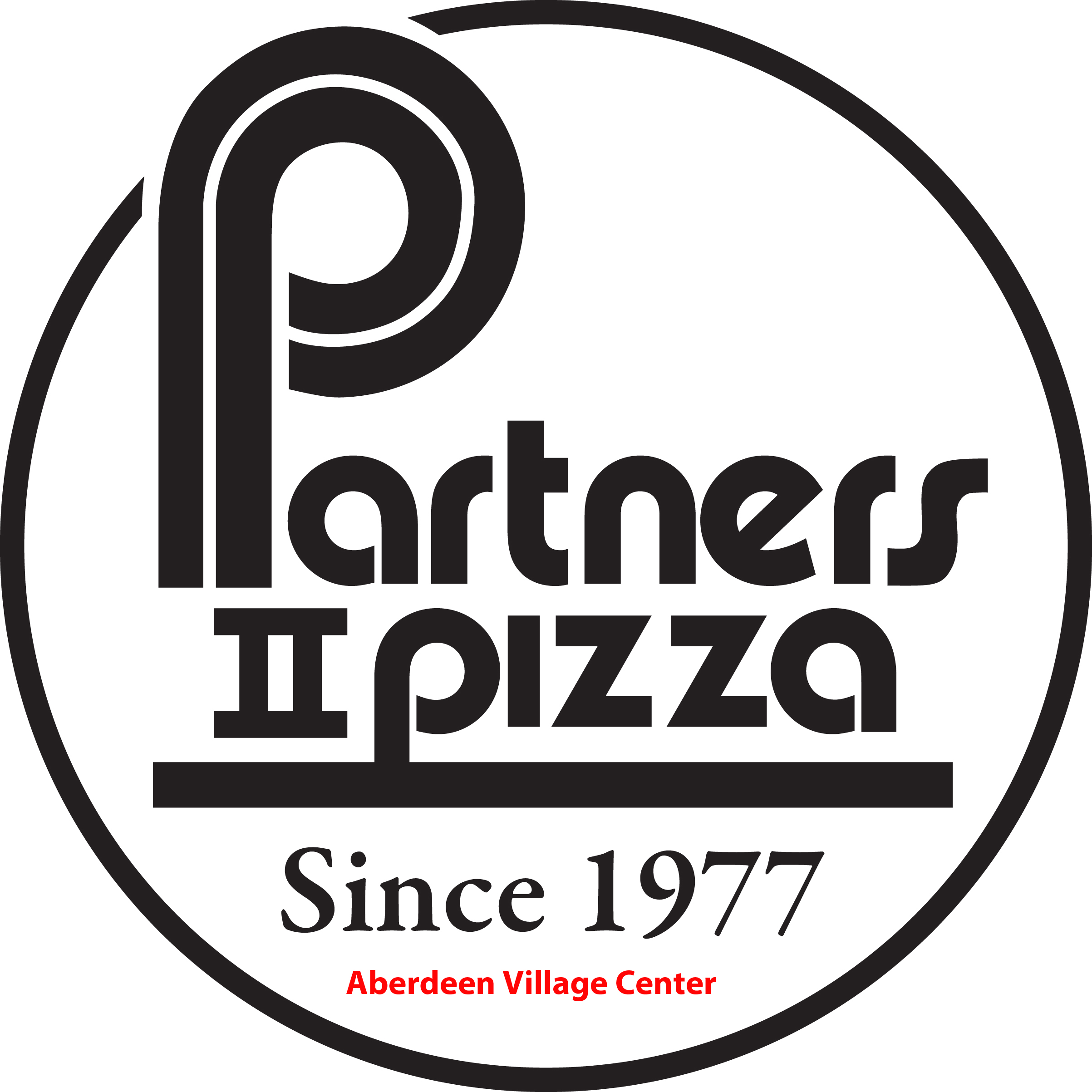 Aberdeen Village Center - Partners II Pizza